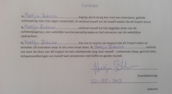 Creativiteitscontract